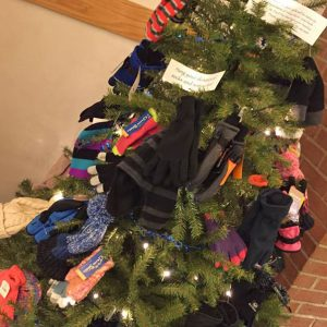 Family and Youth Outreach Program - Hat and Mitten Tree