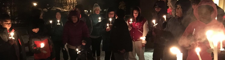 Epiphany candles