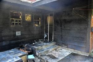 Pilgrim Point fire damage